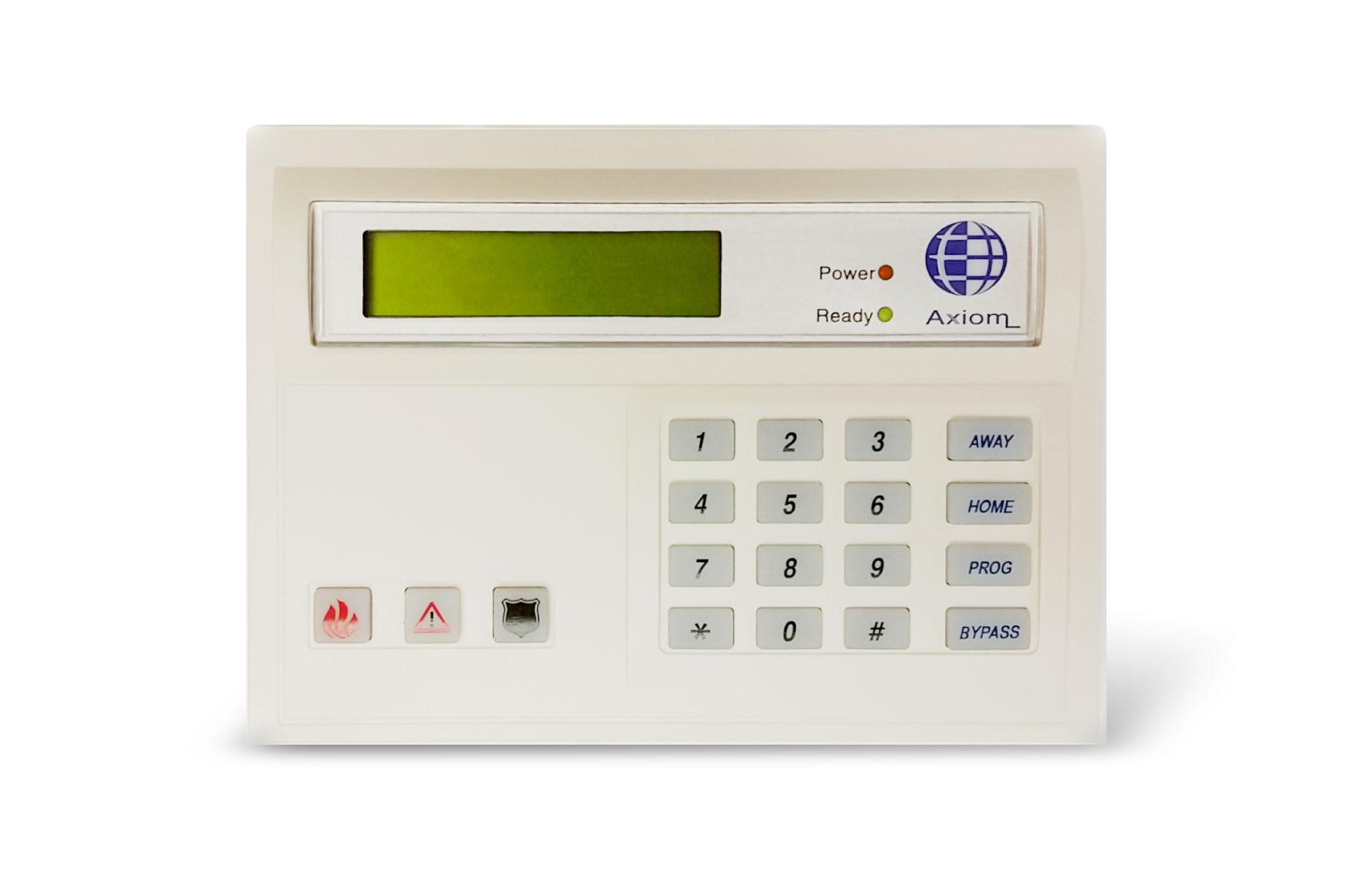 SafeSuite LCD4 Alarm Keypad